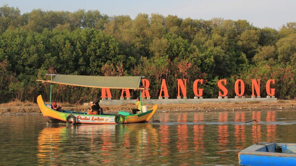 Berkeliling Hutan Mangrove dengan Perahu