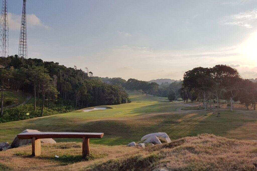 salah satu golf course di BLR