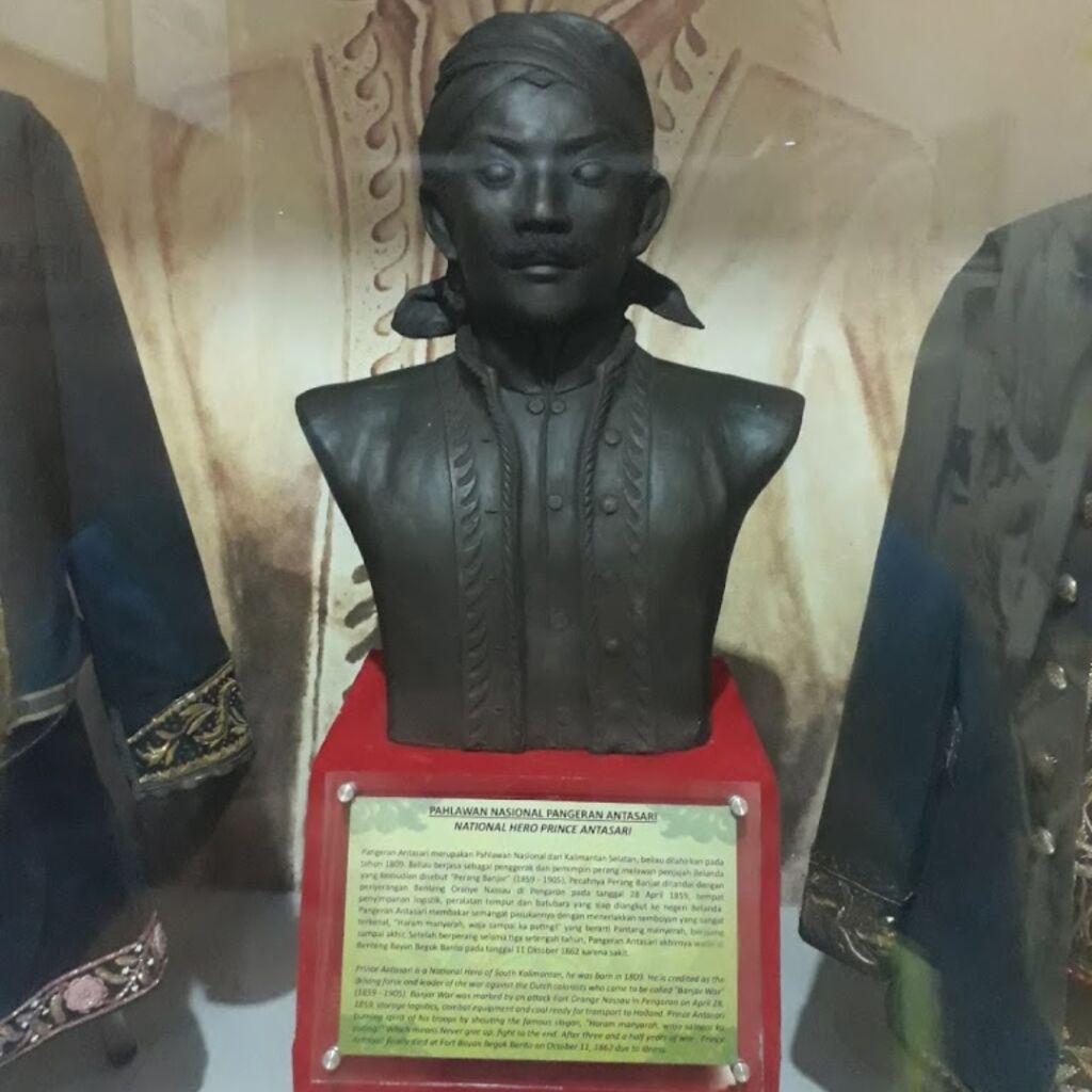 Patung setengah badan Pangeran Antasari