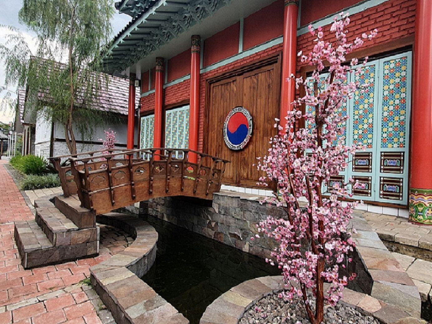 Arsitektur rumah khas korea