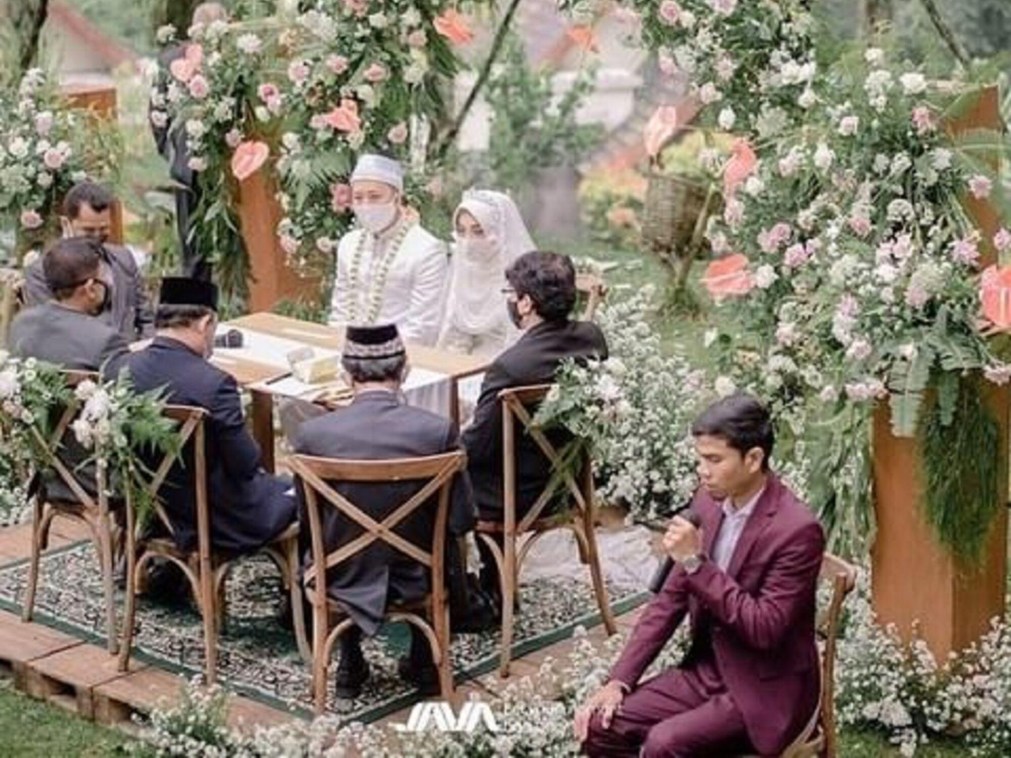 acara perkawinan di Sindang Reret