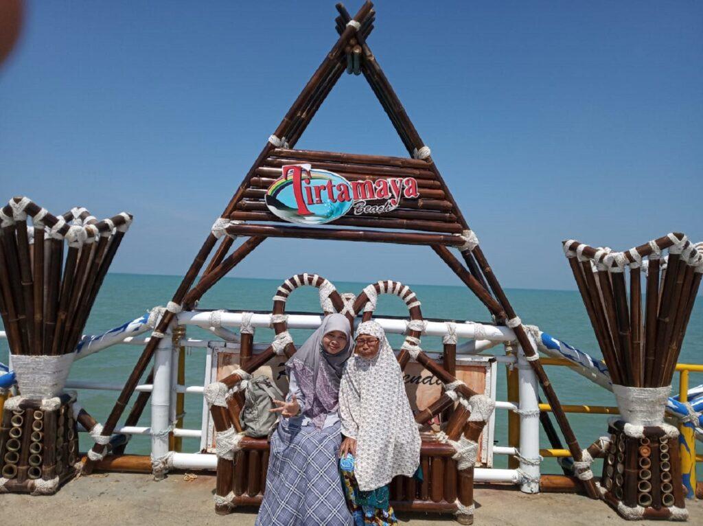 Spot Foto di Pantai Tirtamaya