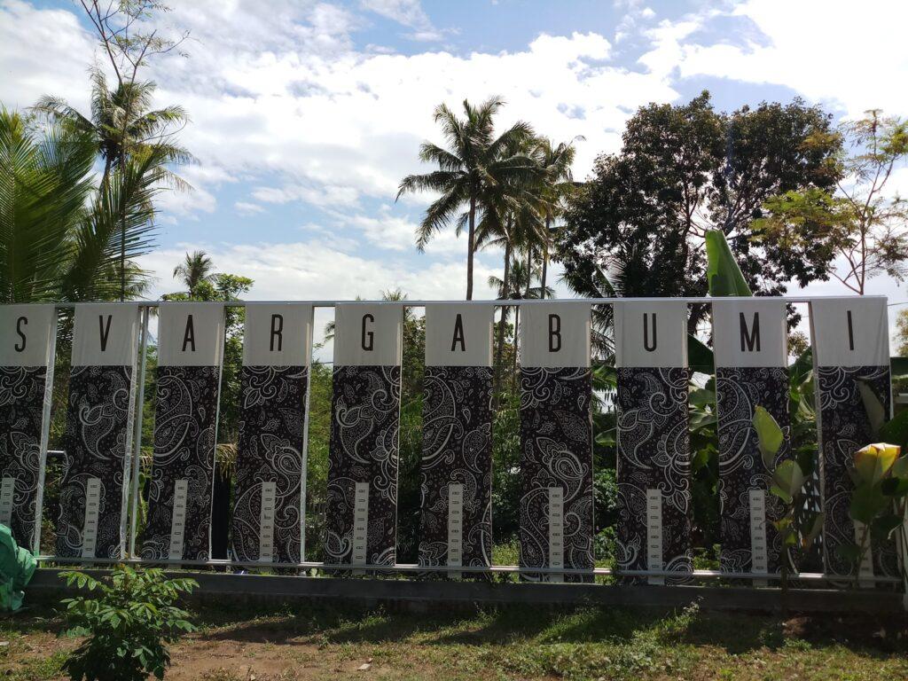 Destinasi wisata alam kekinian Svargabumi Borobudur