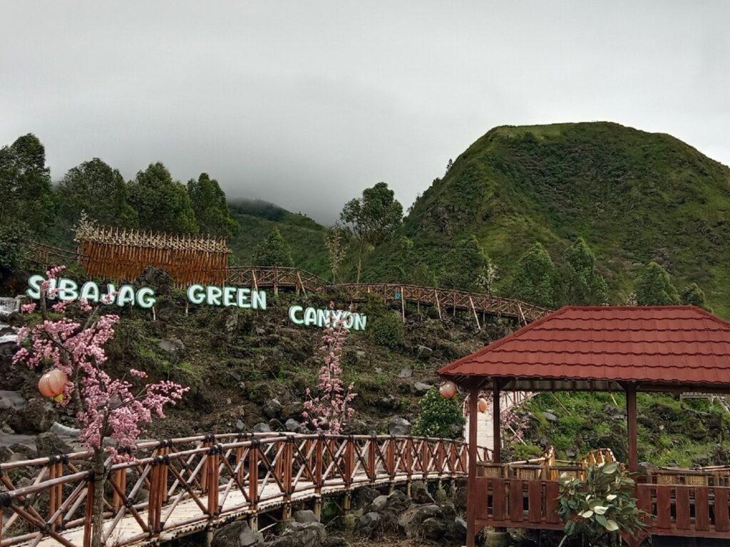 Sibajag Green Canyon dan Bukit Sikendil