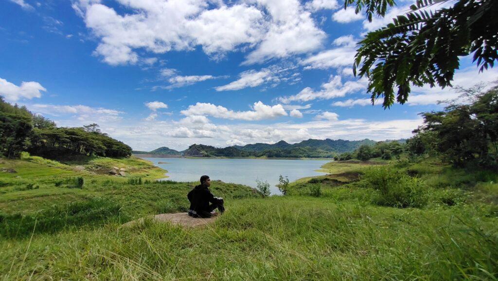 Waduk Wonorejo di Desa Wonorejo, Tulungagung