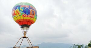 wahana foto balon udara pasir kirisik tasikmalaya