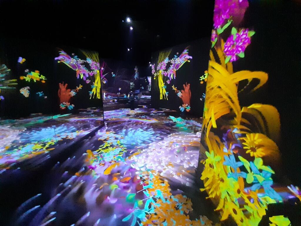 Perpaduan seni dengan teknologi teamlab future park