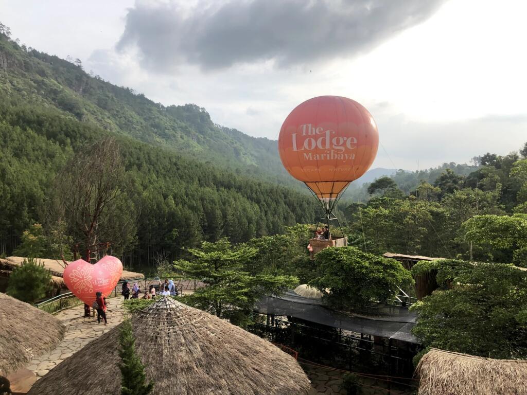 The Lodge Maribaya tempat wisata di Bandung yang menawarkan udara sejuk pegunungan