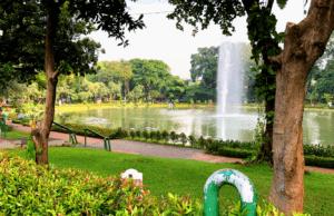 area danau di taman situ lembang jakarta