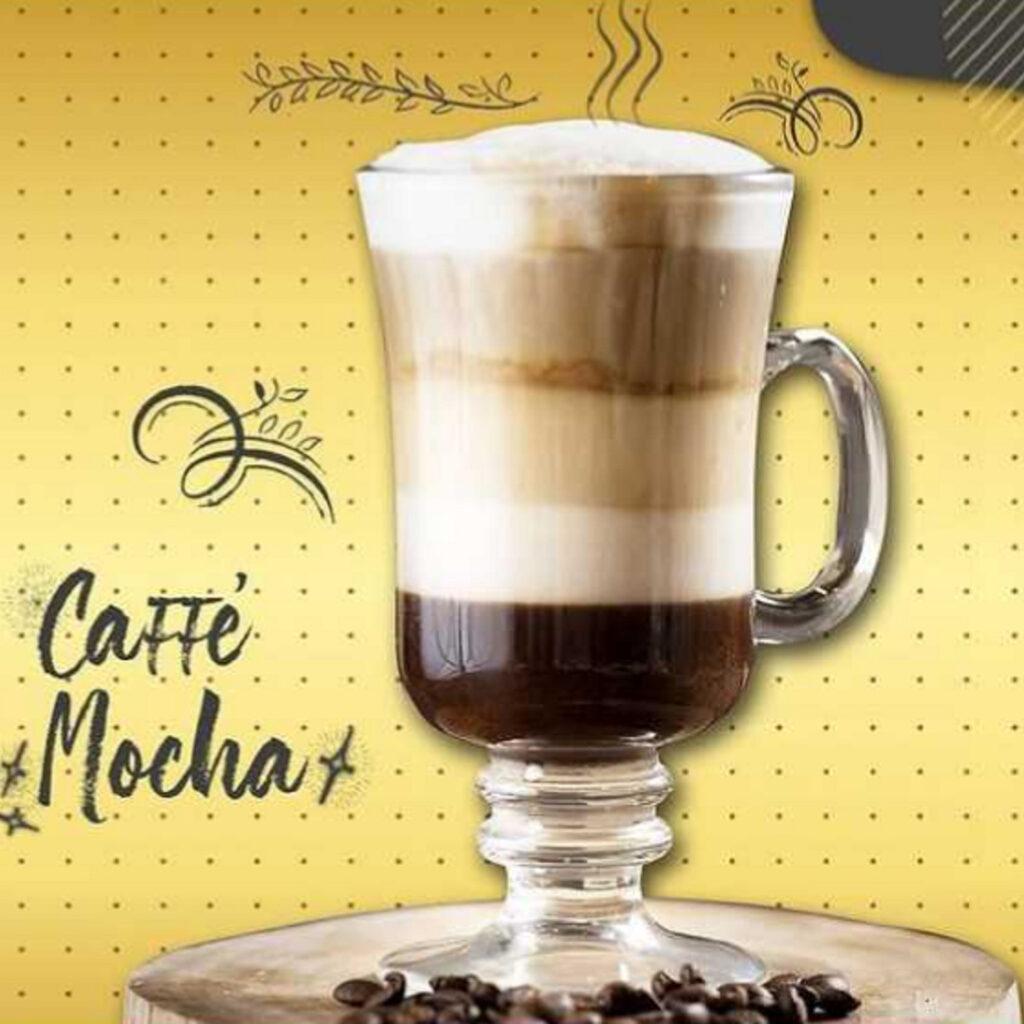 Menu minuman Caffe Mocha Secret Recipe