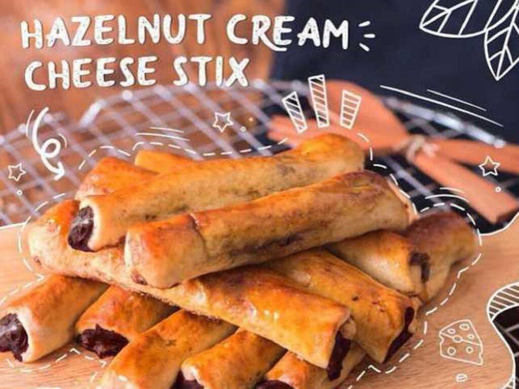Menu Hazelnut Cream Cheese Stix