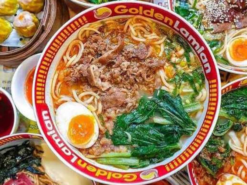 Lamian extra Spicy Beef Golden Lamian