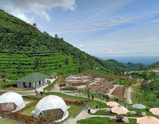 Tenda-tenda unik Lembah Indah