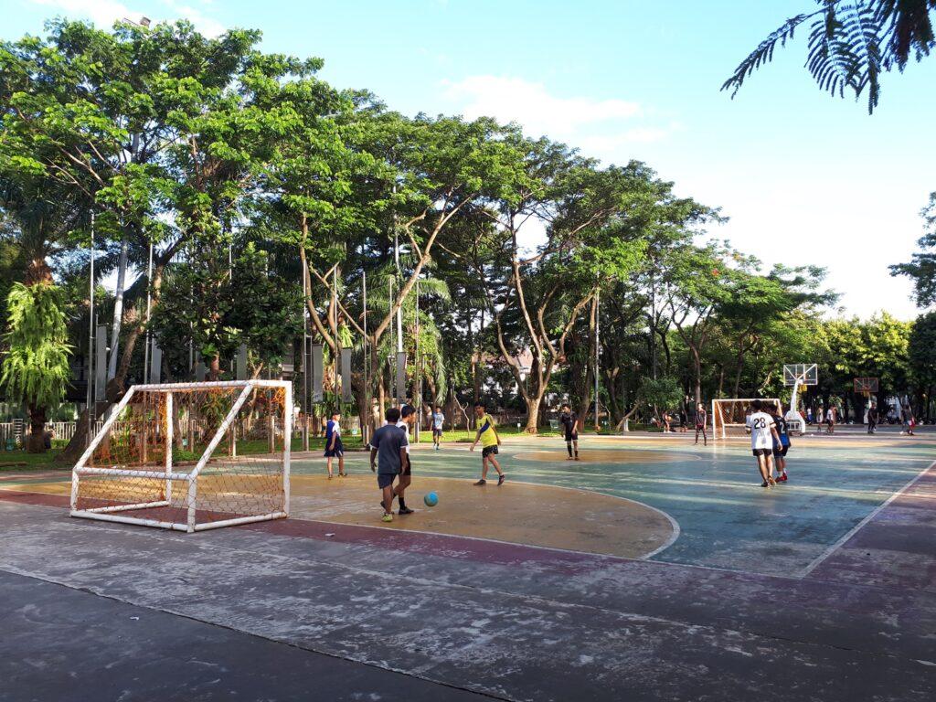 Lapangan futsal Taman Menteng
