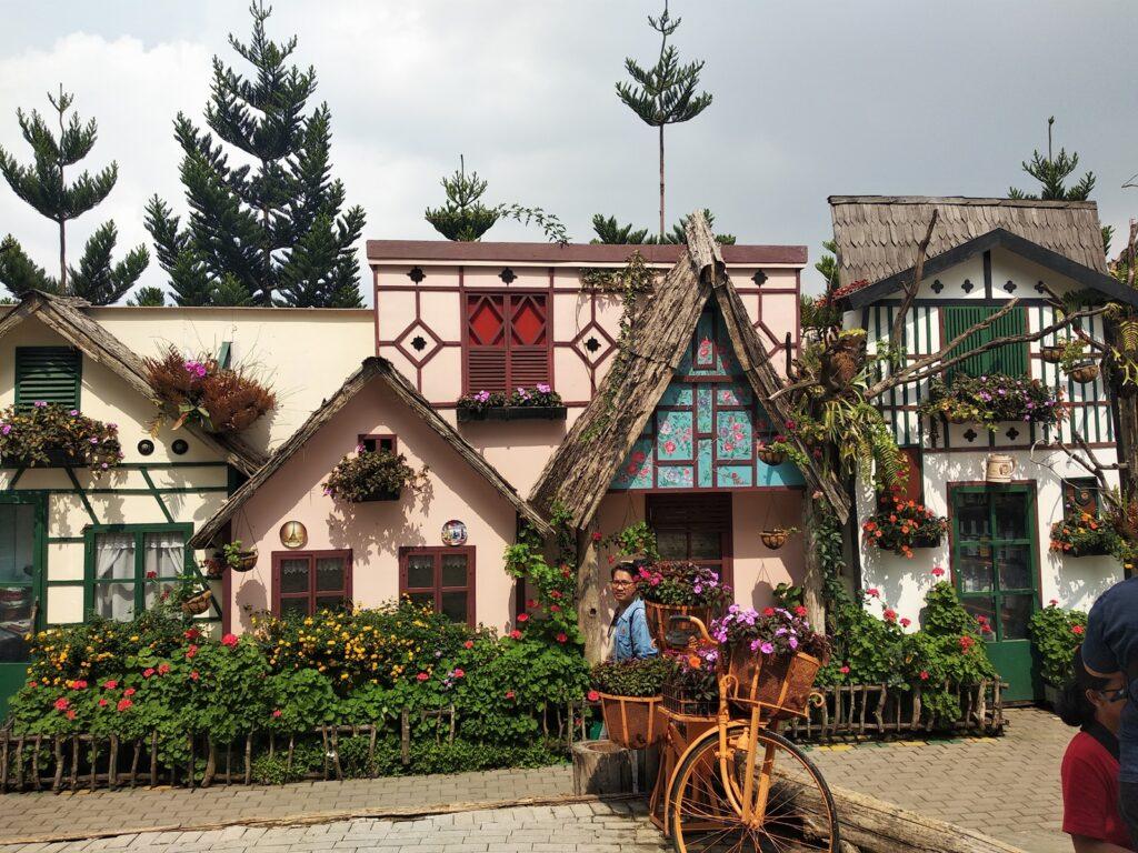 Farm House tempat wisata di lembang bertema desa eropa unik