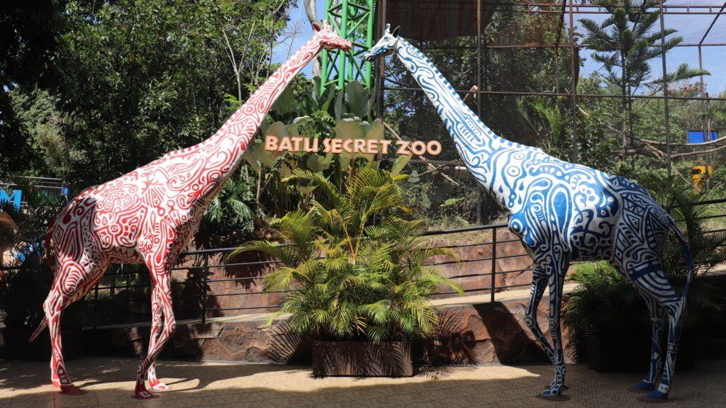 Batu Secret Zoo tempat wisata di Malang dengan berbagai koleksi satwa