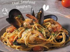 Thai Seafood Spaghetti Secret Recipe