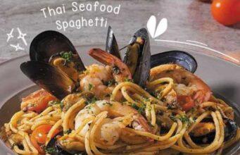 Thai Seafood Spaghetti Secret Recipe