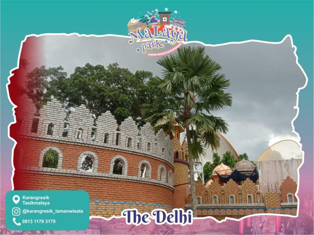 Sebagian wahana di anjungan The Delhi