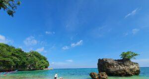 Batu Karang di Pantai Padang Padang