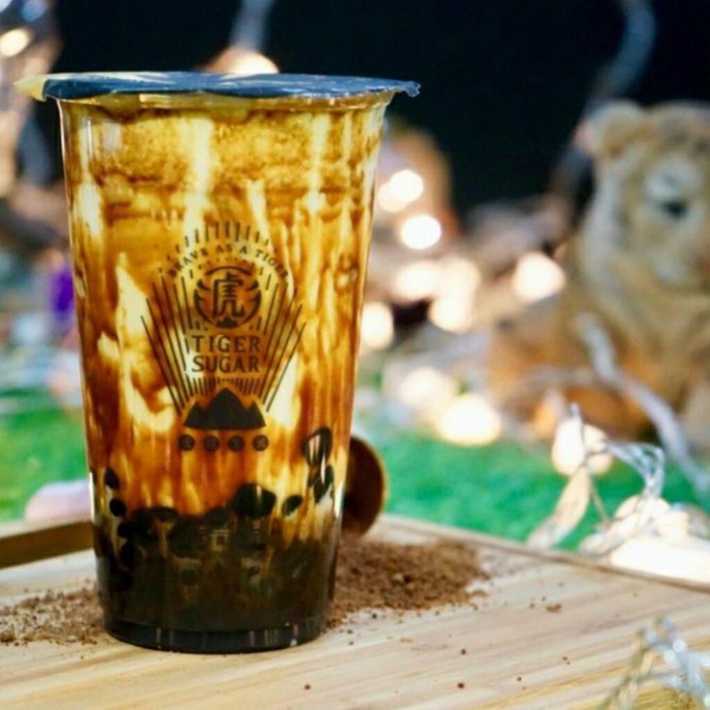 Brown Sugar Pearl Milk Tiger Sugar