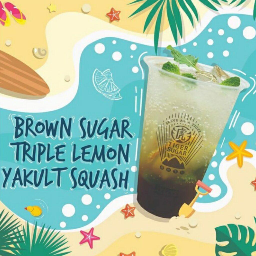 Brown Sugar Yakult Triple Lemon