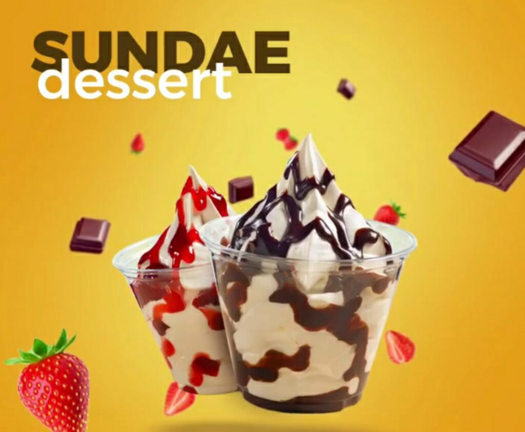 Sundae Dessert