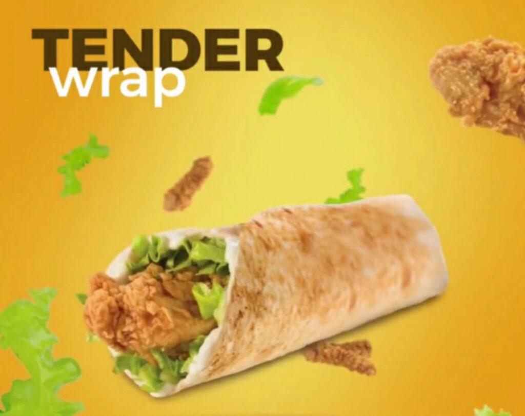 Tender Wrap Texas Chicken