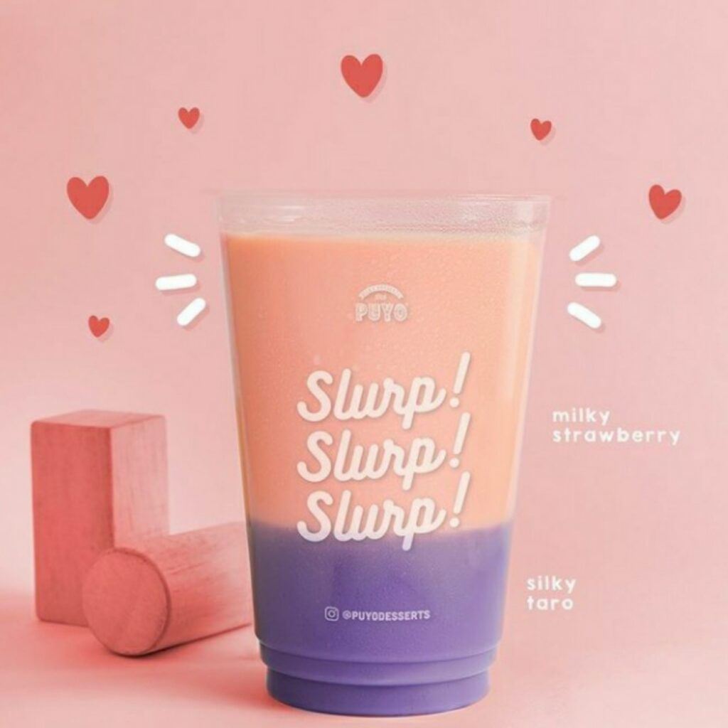 Varian Milky Strawberry PUYO