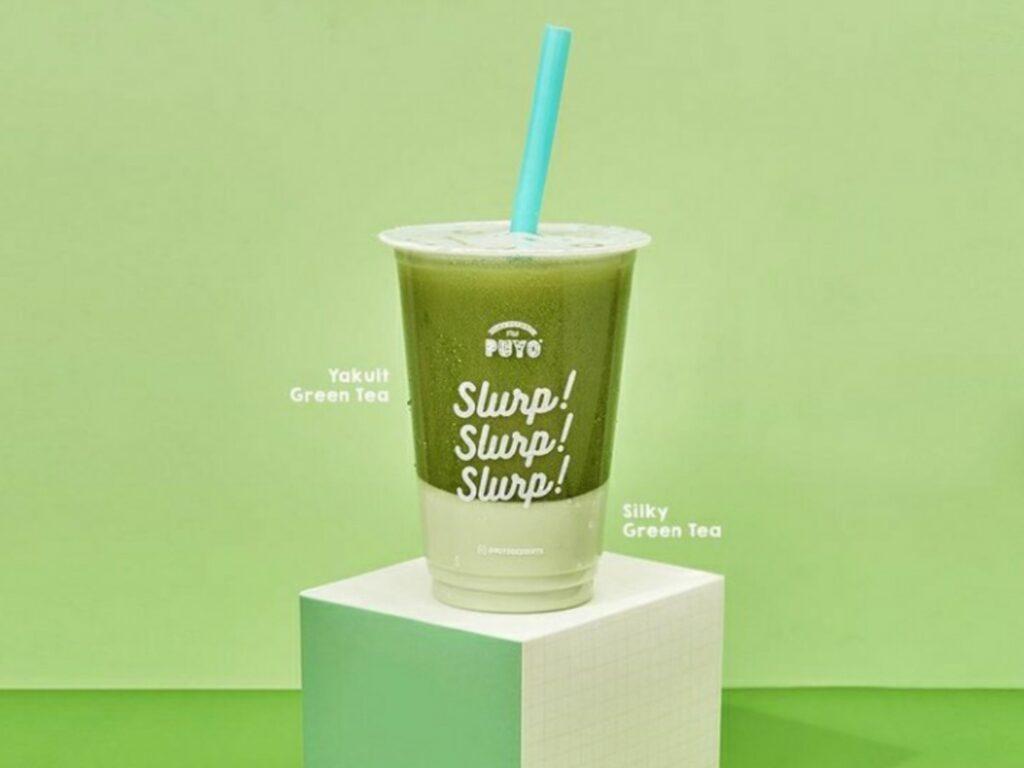 Varian Yakult Green Tea