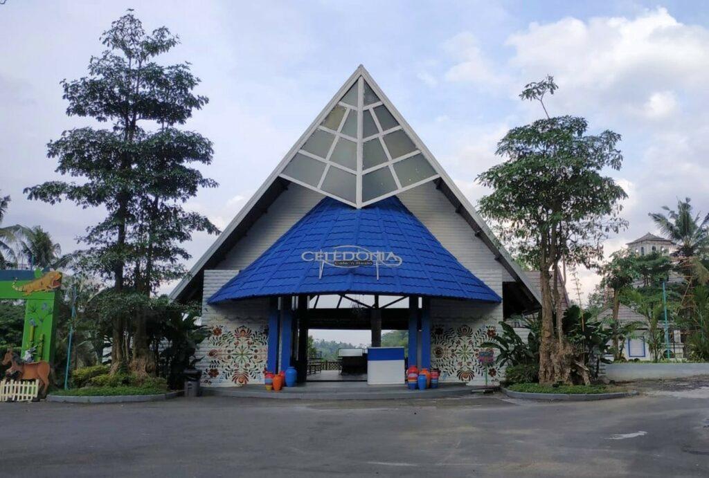 Celedonia pusat kuliner Malaya Park