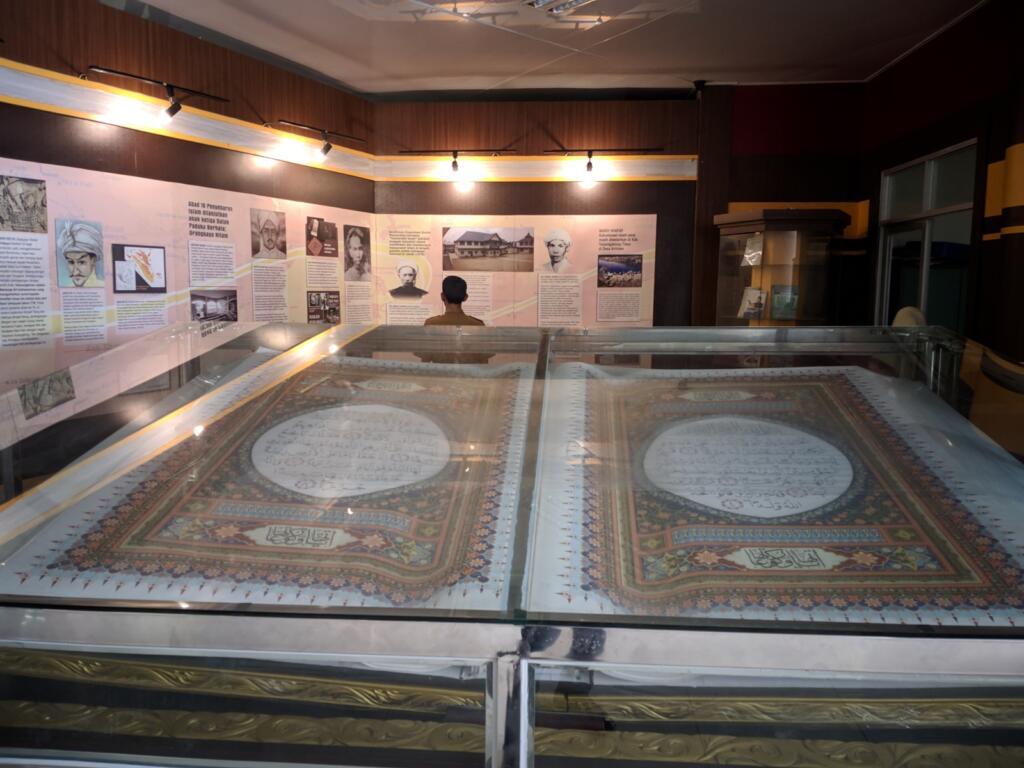 Salah satu koleksi Museum Gentala Arasy