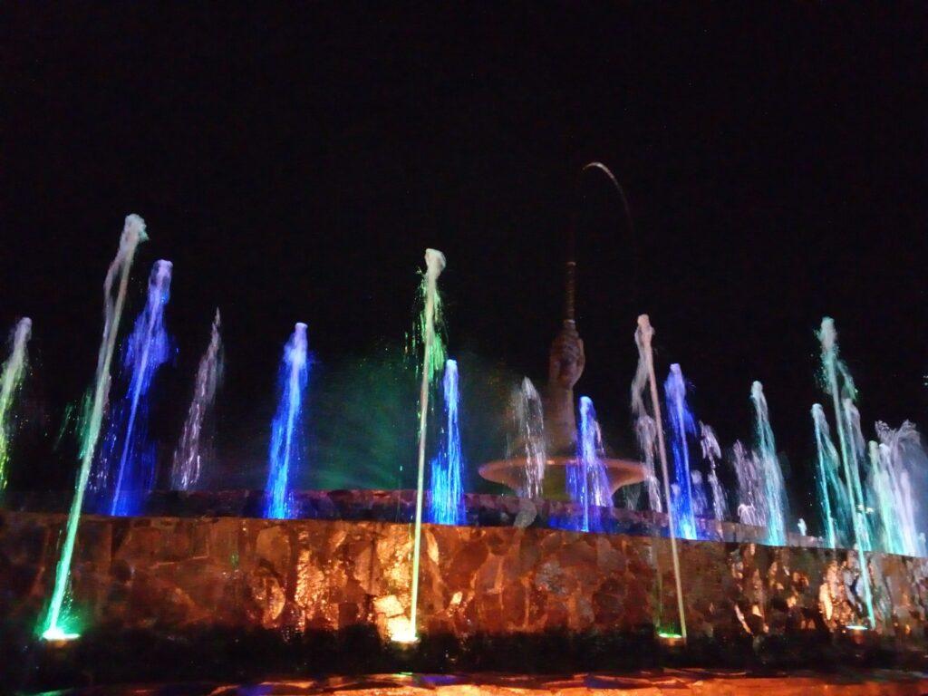 Taman Pecut dan air mancurnya