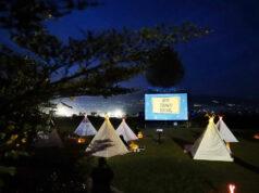 Suasana kegiatan Tenda Dibawah Bintang di Sky Garden