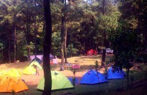 Camping di Gunung Pancar