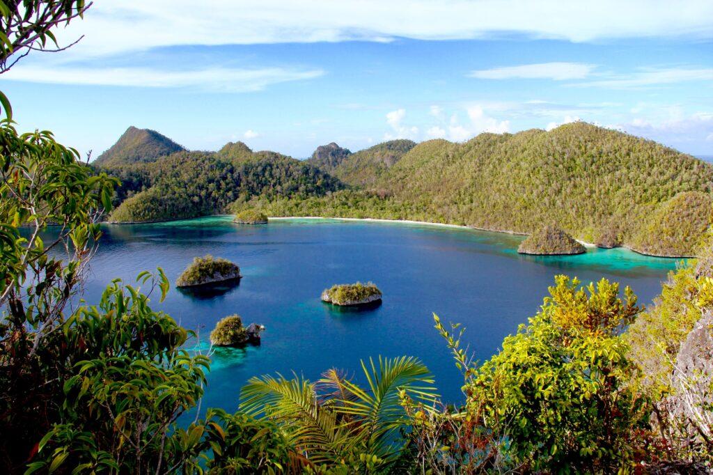 Panorama Pulau Wayag
