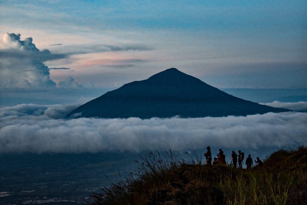 Panorama Gunung Cikuray