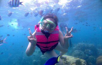 Snorkeling Bersama Ikan Warna-warni