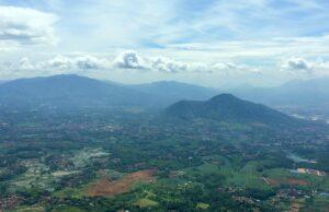 Bentang alam gunung manglayang