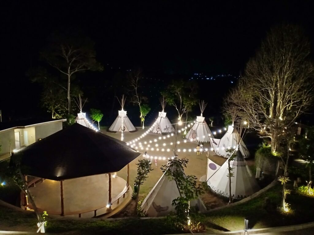 Area Glamping di Sparks Forest Adventure
