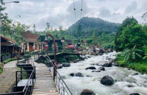 Aliran sungai yang jernih