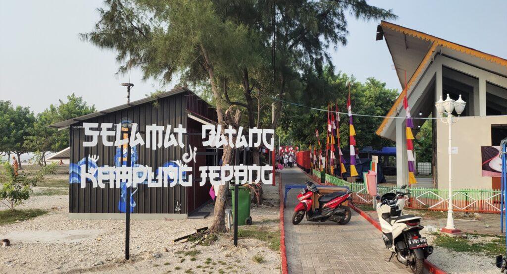 Kampung Jepang di Pulau Untung Jawa