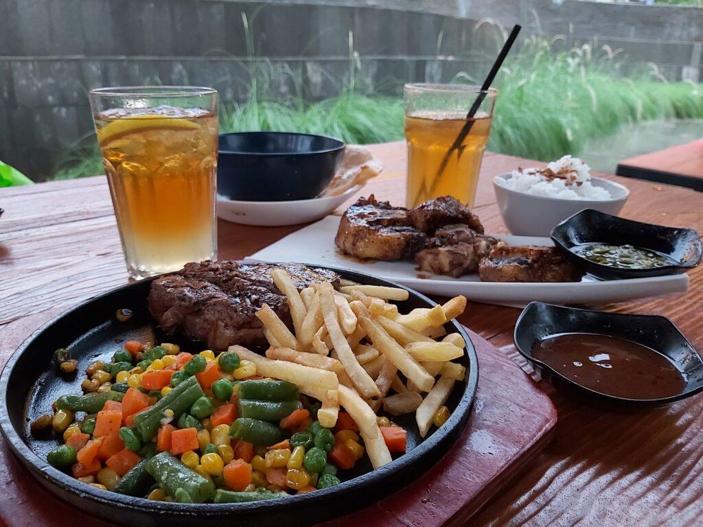 Salah satu menu Paradesa Park
