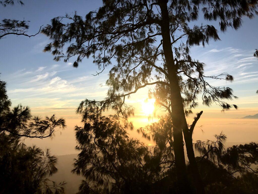 Panorama matahari terbit