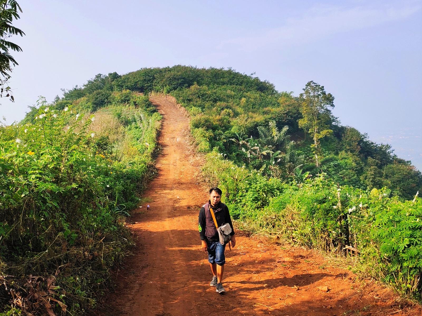Jalur hiking landai