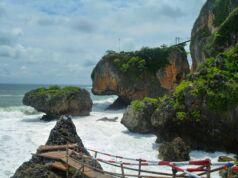 Spot Foto Jembatan Gantung Gunung Kidul