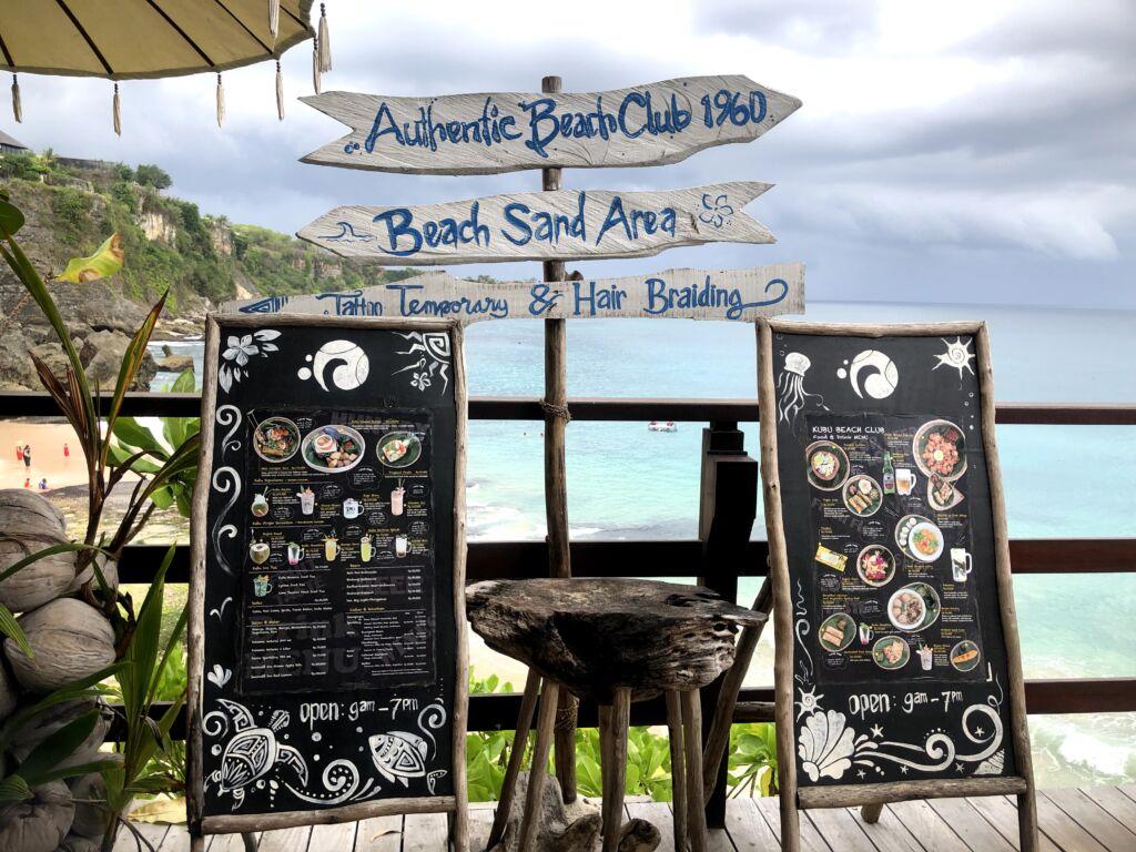 Kubu Beach Club Bali