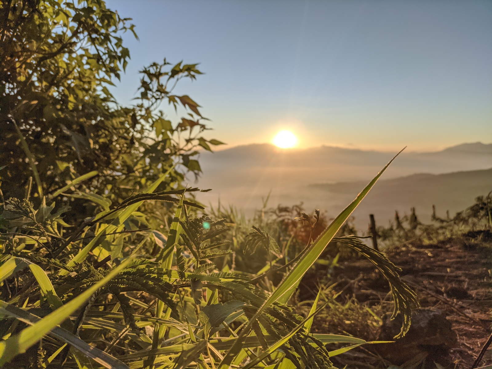 Cantiknya panorama sunrise
