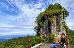 Pemandangan Alam Perbukitan Menoreh Yogyakarta