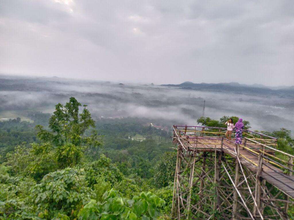 Pemandangan Indah dari Gardu Pandang